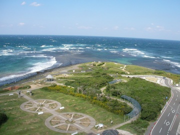 角島灯台公園(角島灯台)